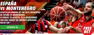 circus promocion Eurobasket 2017 España vs Montenegro 1 septiembre