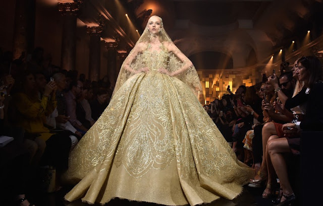 Elie Saab Inverno 2016 desfile alta costura