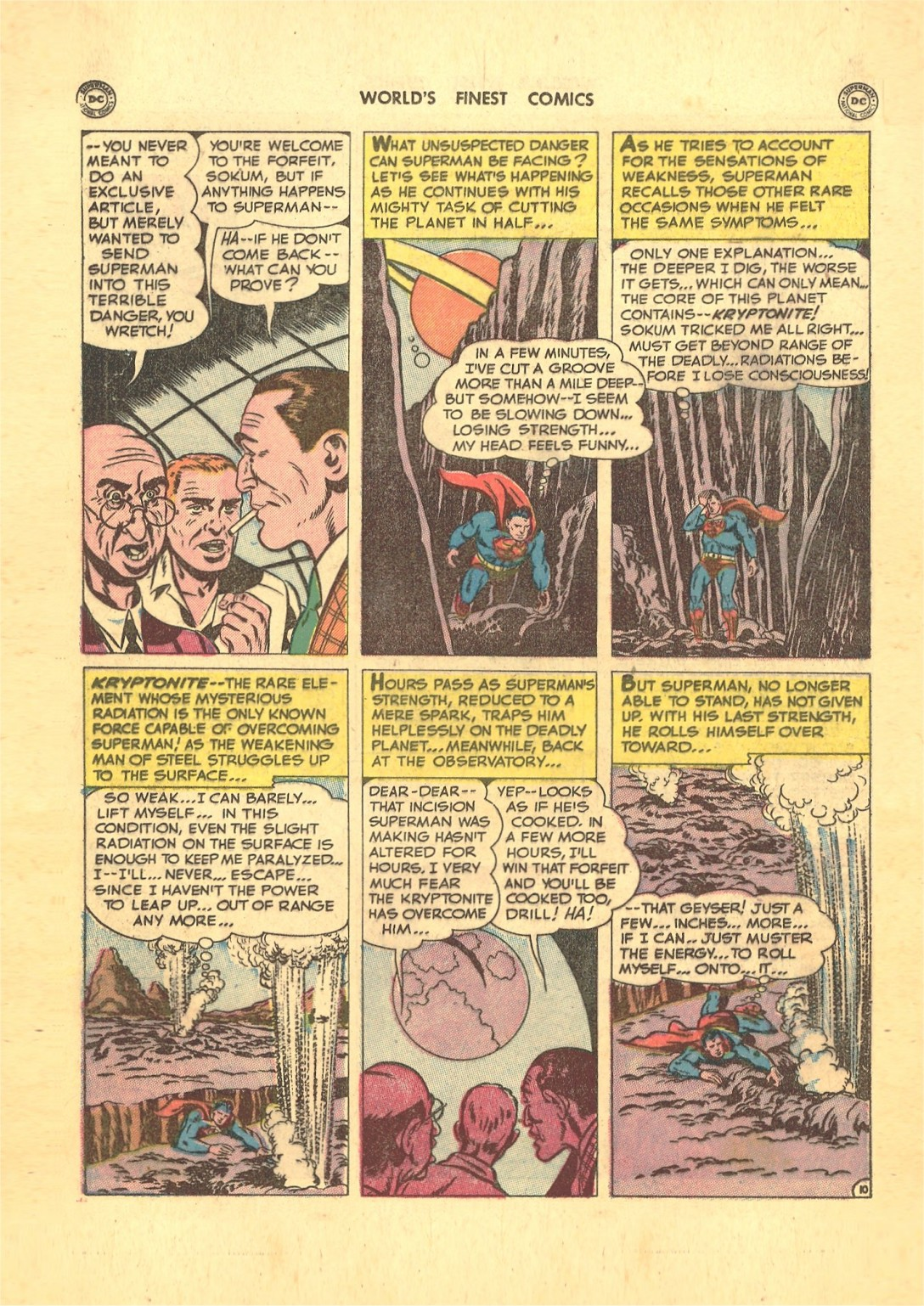 Read online World's Finest Comics comic -  Issue #50 - 12