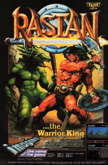 Rastan - Bob Wakelin