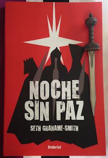 Portada del libro Noche sin paz, de Seth Grahame-Smith