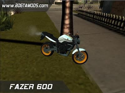 GTA SA - FAZER 600 1