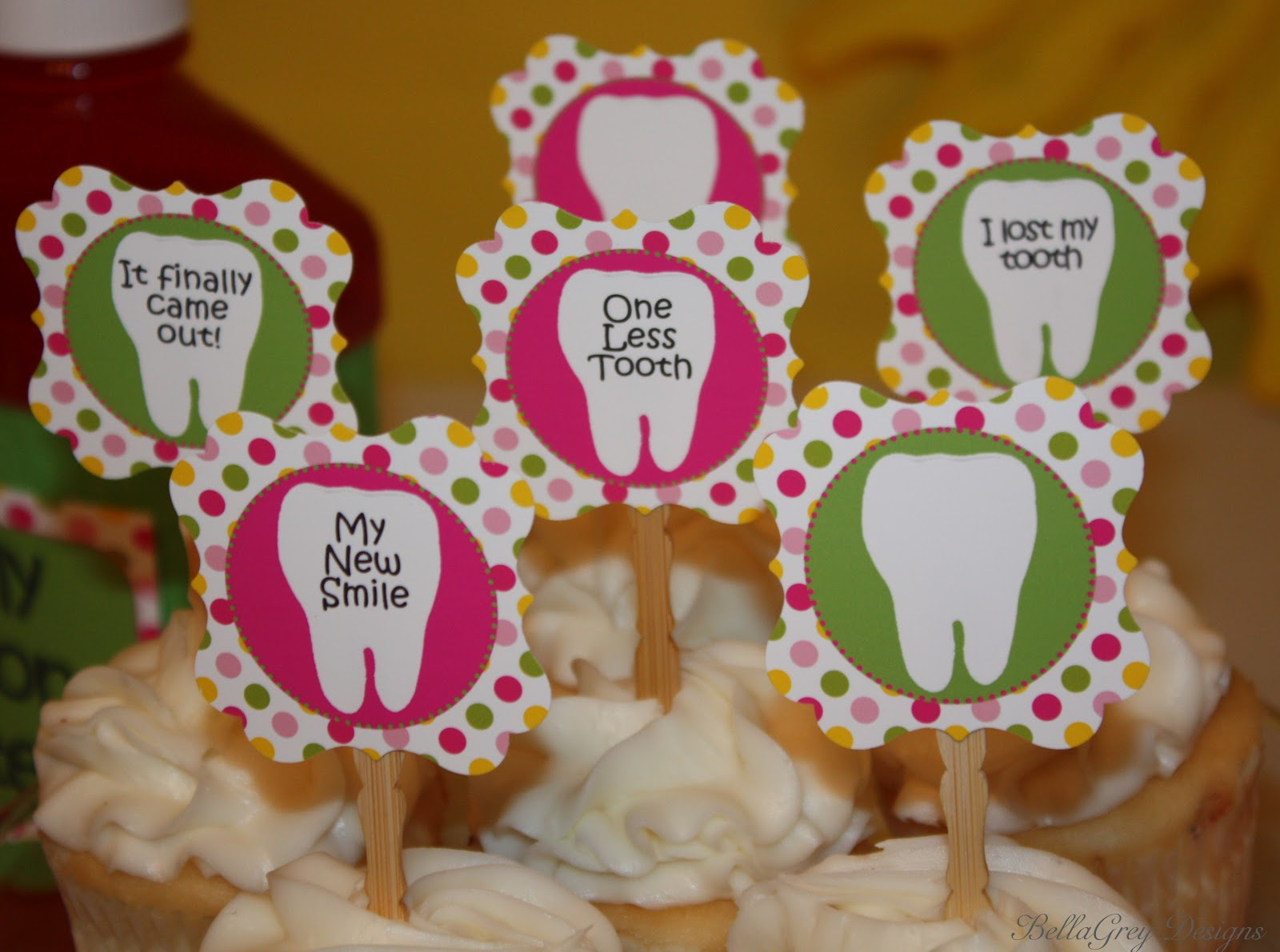 Bellagrey Designs Real Party One Less Tooth Amp New
