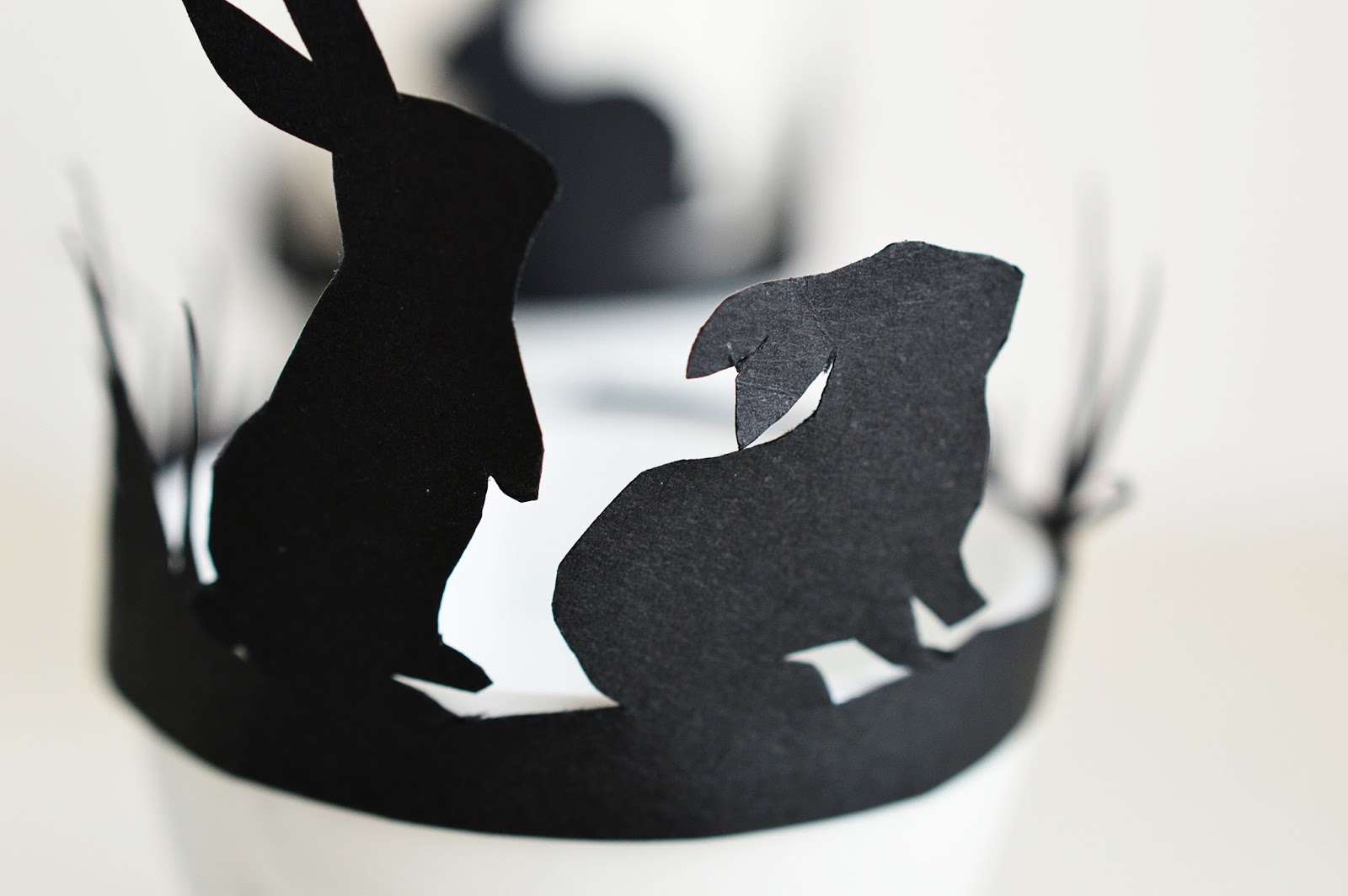DIY Easter Egg Cup Silhouette Band | Motte's Blog
