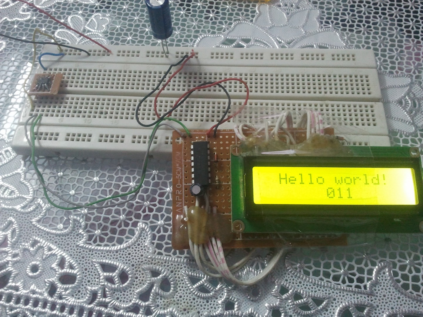 2 wire serial lcd mikroc