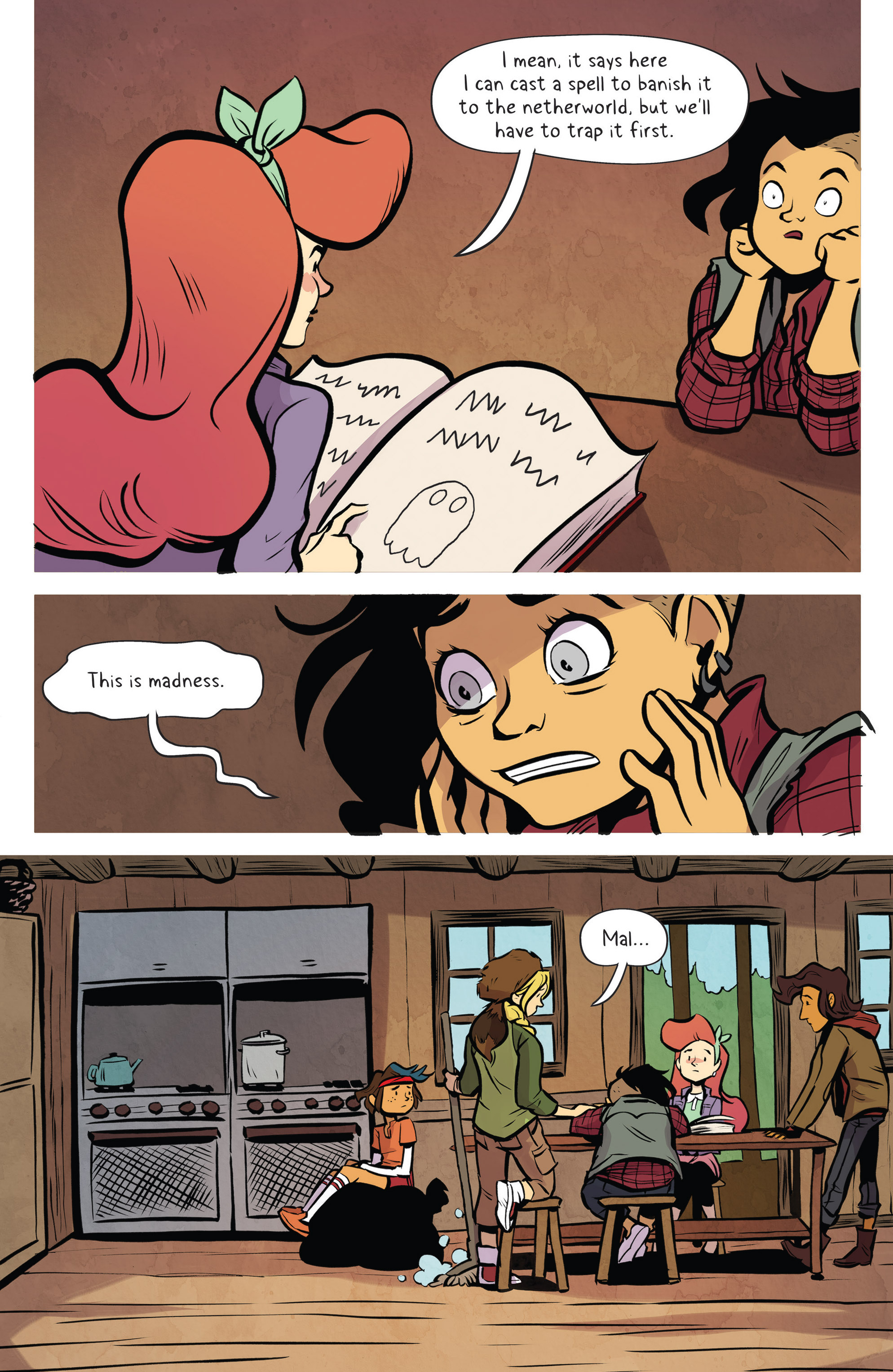 Read online Lumberjanes: Makin' the Ghost of It 2016 Special comic -  Issue # Full - 23