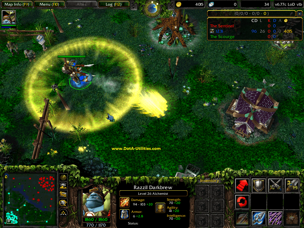 Dota-Utilities: DotA 6 78c LoD v2g Map Download - Legends of