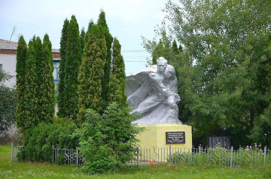 Памятник. Село Вересы