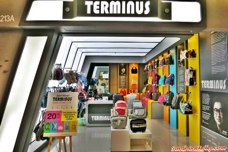 Terminus Functional & Creative Bags, Terminus, Functional Bag, Creative Bag, Convenient, 5-in-1 Transformer Bag,  New Invisible Urban Roller Terminus The New Invisible Urban Roller, Laptop Backpack Plus, Bright Tote, New Invisible Urban Roller, X-Series Backpack, Terminus 1 Utama Shopping Centre