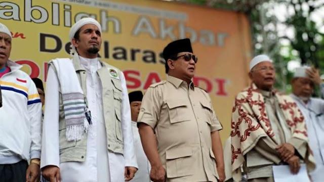 Tegas, Prabowo akan Jemput Habib Rizieq Pulang ke Indonesia