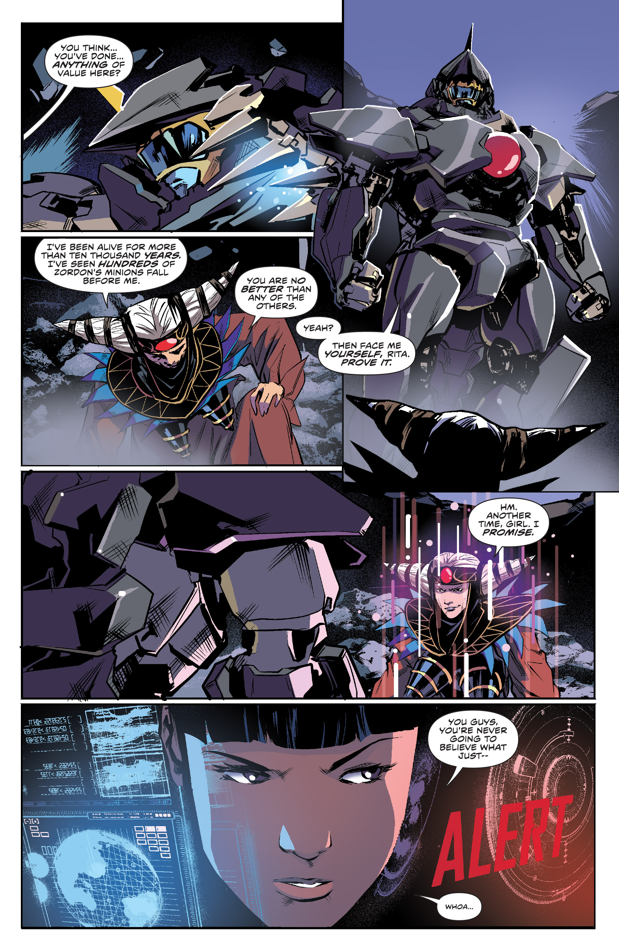 Read online Mighty Morphin Power Rangers comic -  Issue #16 - 8