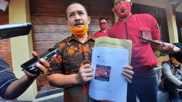 PDIP Laporkan 7 Akun Pengunggah Tagar #TangkapMega dan #BubarkanPDIP