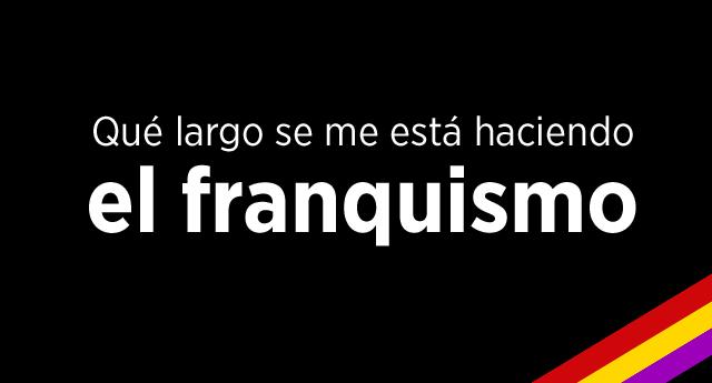 Ley de la concordia o recordar a Franco con amor