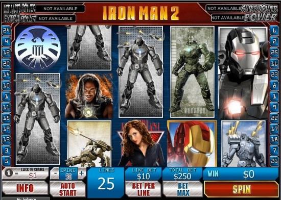 Tragaperras online de Iron Man 2