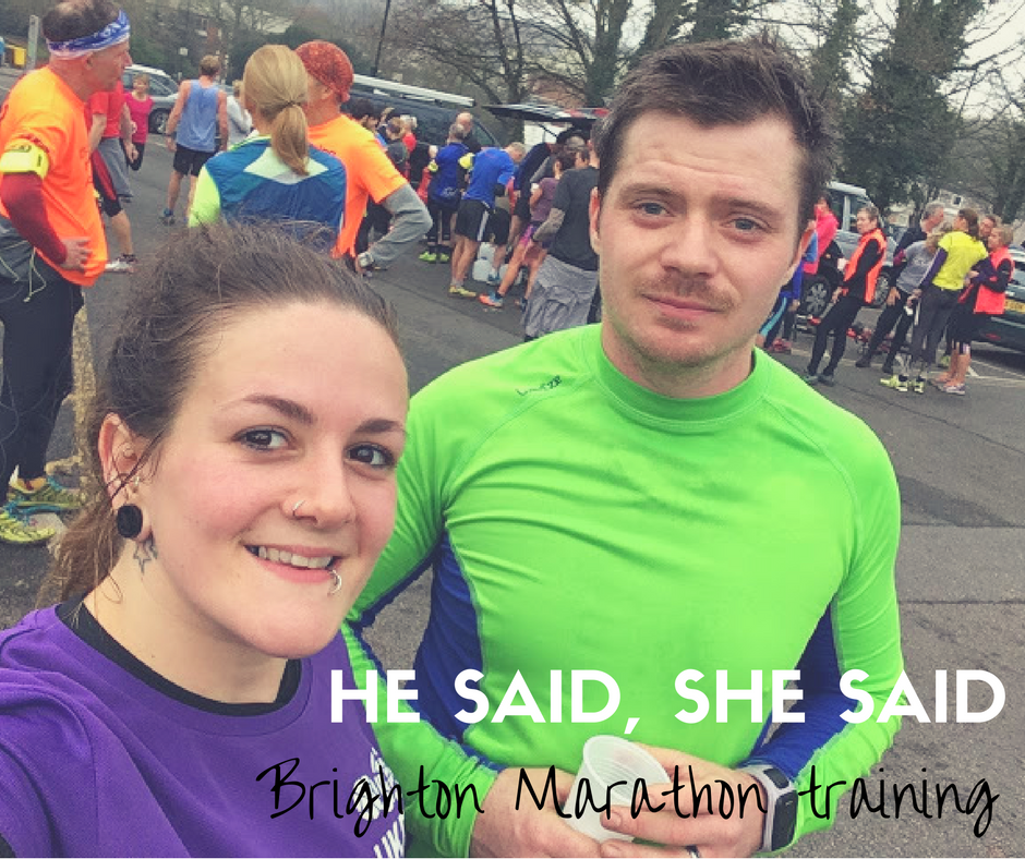 FitBits | Brighton Marathon training week 1 - Tess Agnew fitness blogger