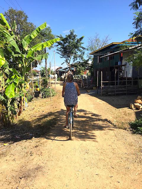Tour du lac Inlé à vélo, Birmanie