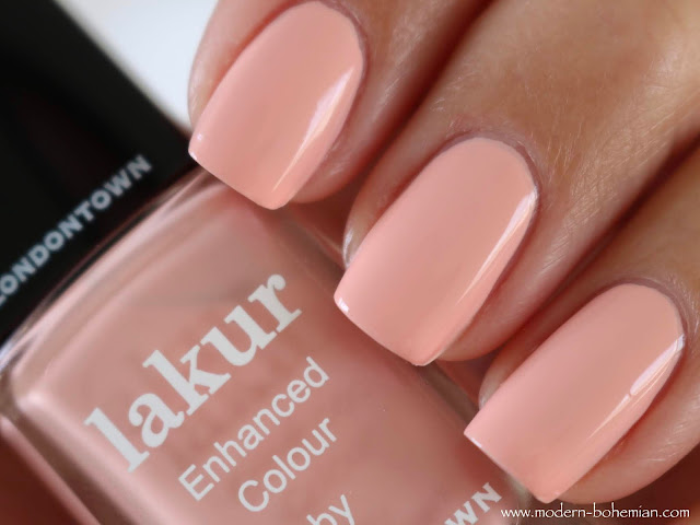 Londontown Lakur Peach Please Swatches