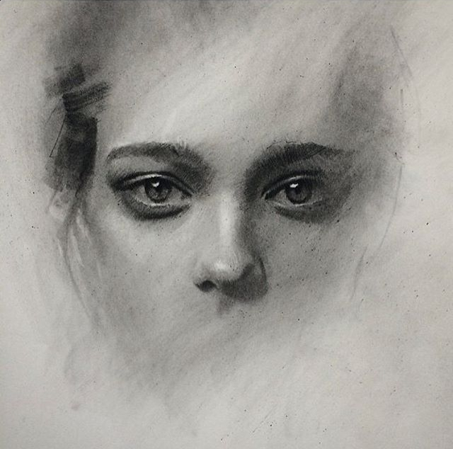 02-Casey-Baugh-Expressive-Charcoal-Portrait-Drawings-www-designstack-co