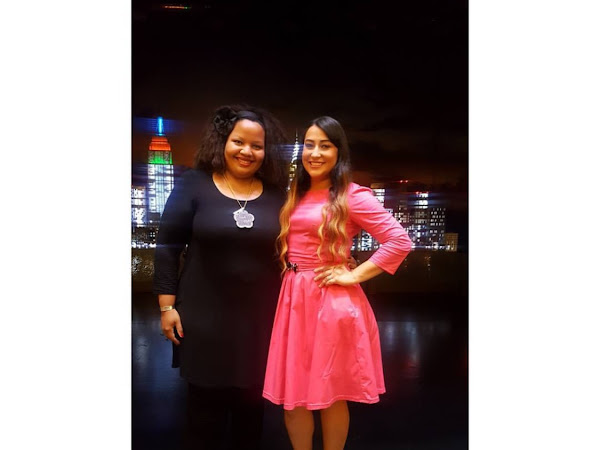 """""""In The Mix"""" with Jeannie Ortega an episode styled by Julissa Designs"""