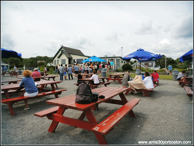 Mesas de Picnic en The Lobster Shack, Cape Elizabeth