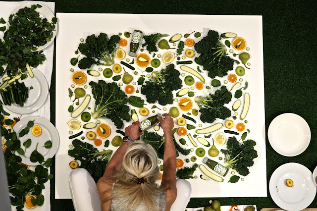 amber locke vegetable art innocent green smoothie