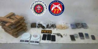 Oito integrantes de quadrilha de tráfico de drogas em Conquista