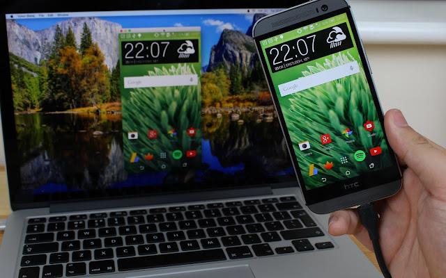 تطبيق Vysor للتحكم وتصفّح هاتف الاندرويد من الحاسوب