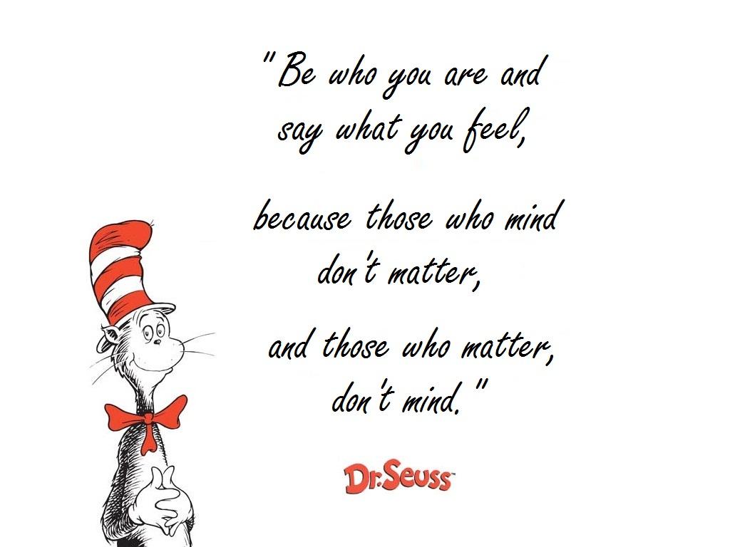Dr. Seuss Quotes Poems