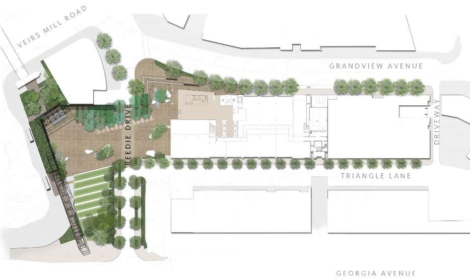 Go Montgomery Parking and Traffic Plan for Wheaton Redevelopment – Parking Layout Plan