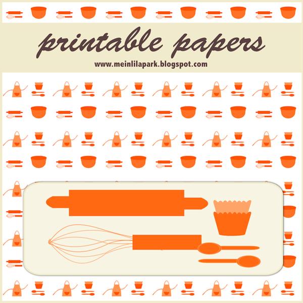 Free Digital Baking Scrapbooking And Fun Papers