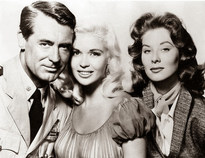 Kiss Them For Me Cary Grant Jayne Mansfield Suzy Parker
