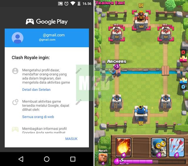 Clash Royale akun baru