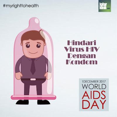 Peringatan Hari AIDS Sedunia 2017 Sebagai Kampanye Hak Untuk Sehat dan Kesetaraan Hak Lainnya