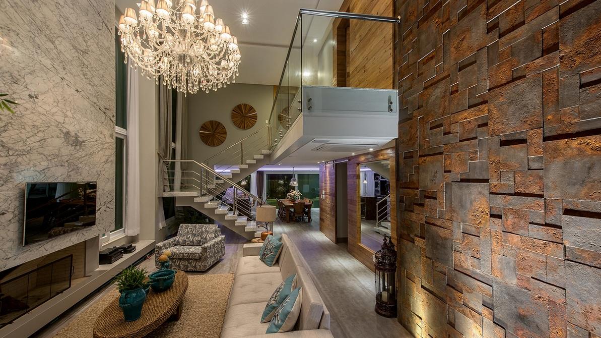 Construindo Minha Casa Clean Ilumina O De Salas Modernas P