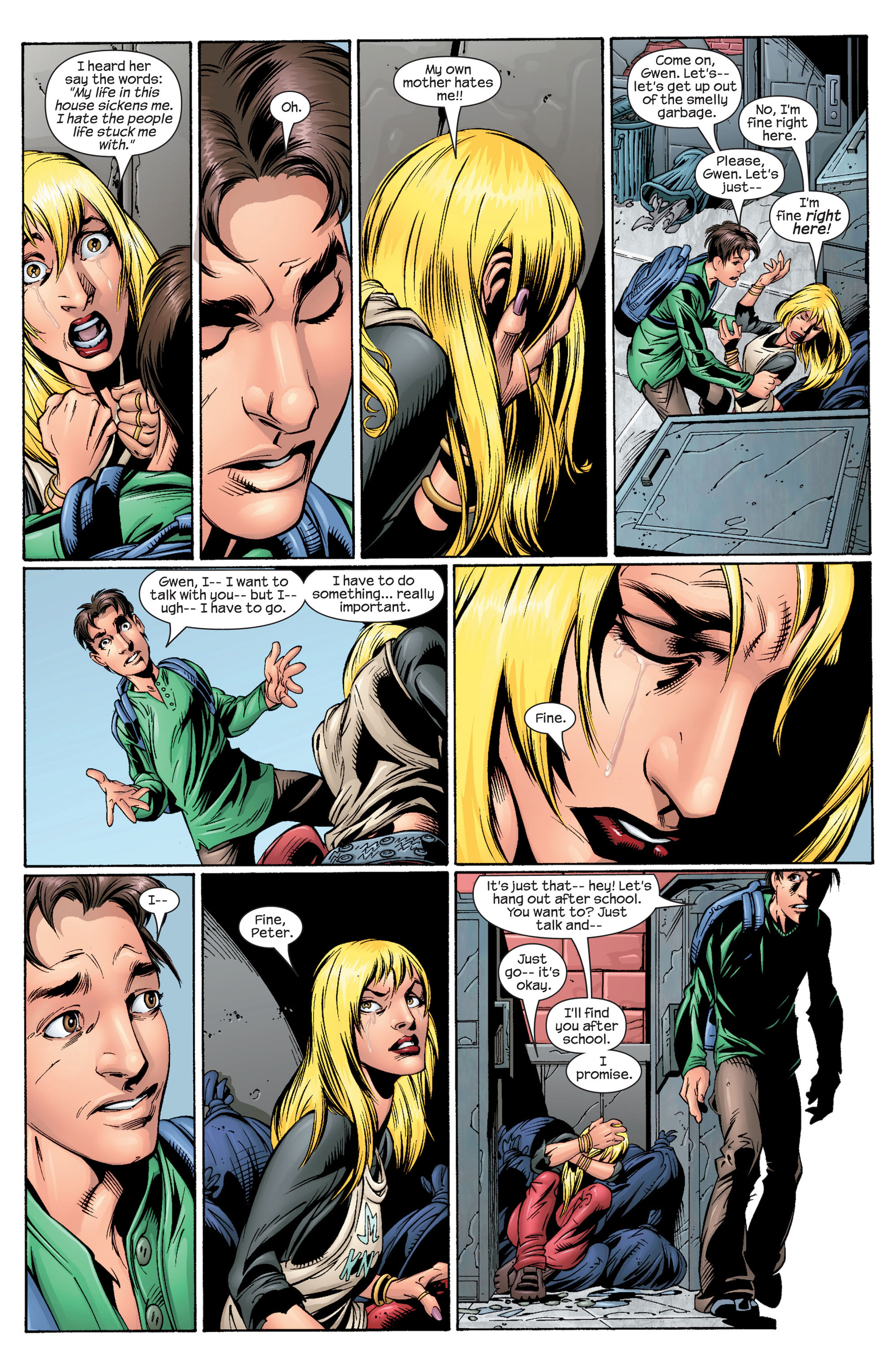 Read online Ultimate Spider-Man (2000) comic -  Issue #28 - 15