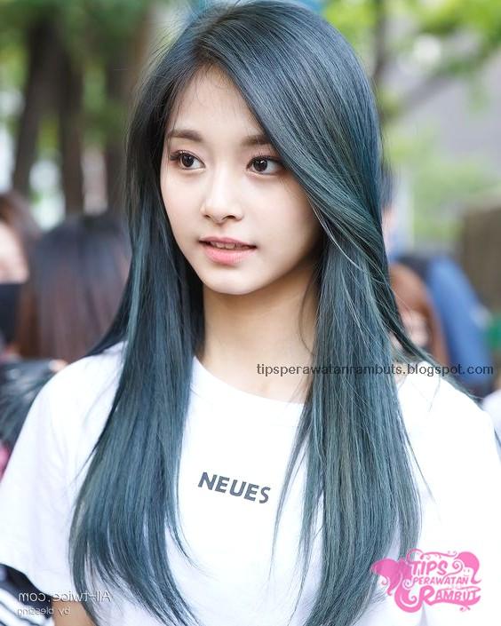 Gambar Rambut Panjang Wanita Korea Terbaru - Juwitala