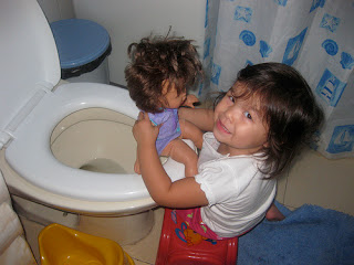 Image: potty training for baby, by The Wu's Photo Land on Flickr