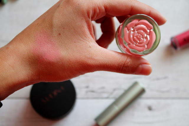 Neve Cosmetics Blush in Tuesday Rose Swatch