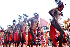 Panagbenga Festival in Baguio City