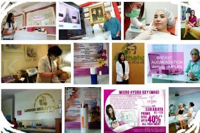 pusat pelayanan kesehatan dan kecantikan kulit wajah di SBY