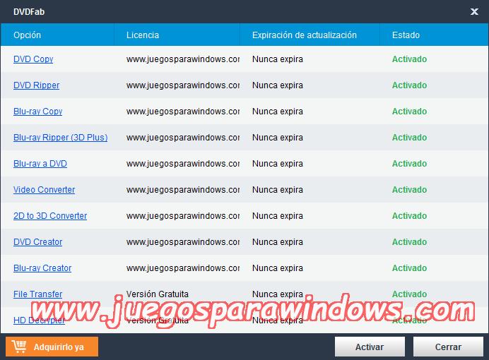 DVDFab v9.3.0.4 Full PC ESPAÑOL Descargar 9