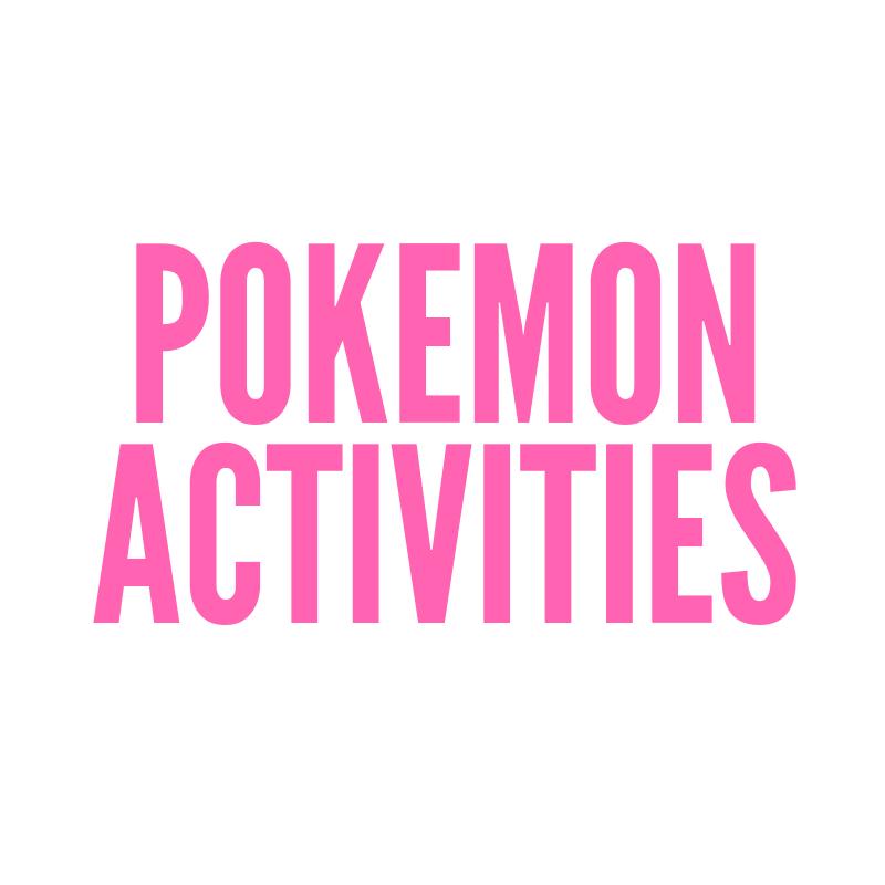 Pokemon activities