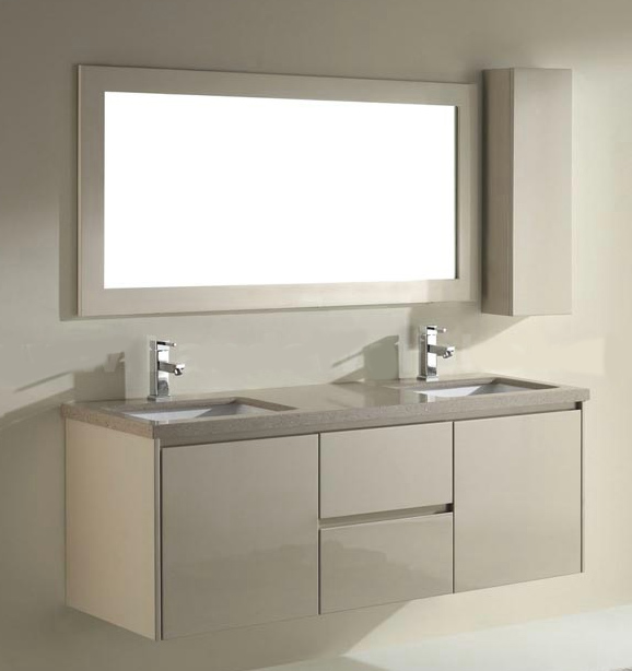 Traditional Bathroom Vanities: How to Install Floating ...