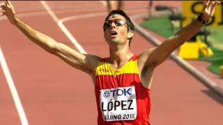 ATLETISMO - Miguel Ángel López estará en los 20 y 50km de Río de Janeiro