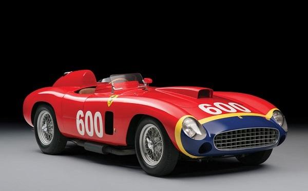 Ferrari 290 MM Scaglietti Spyder de Juan Manuel Fangio