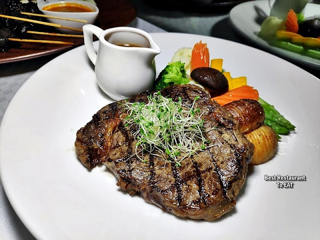 The Club @ G Tower Hotel New Menu - Australian Beef Rib Eye Steak