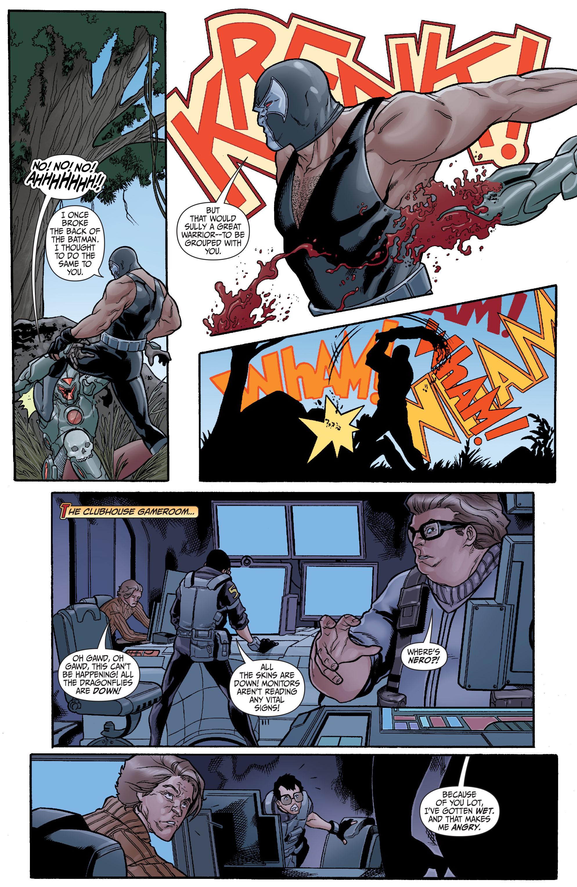 Read online Secret Six (2008) comic -  Issue #23 - 20