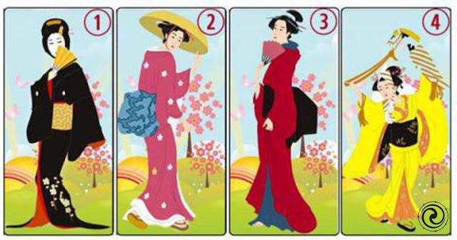 Выберите одну из японских дам, которая по-вашему мнению, самая красивая!