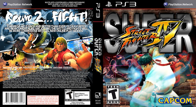 Capa Super Street Fighter 4 PS3