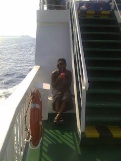 ferry to corfu